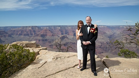 Grand Canyon Grandeur Point Wedding Location