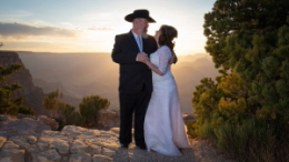 Grand Canyon South Rim Lipan Point Wedding