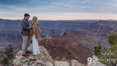 Grand Canyon South Rim Wedding Location